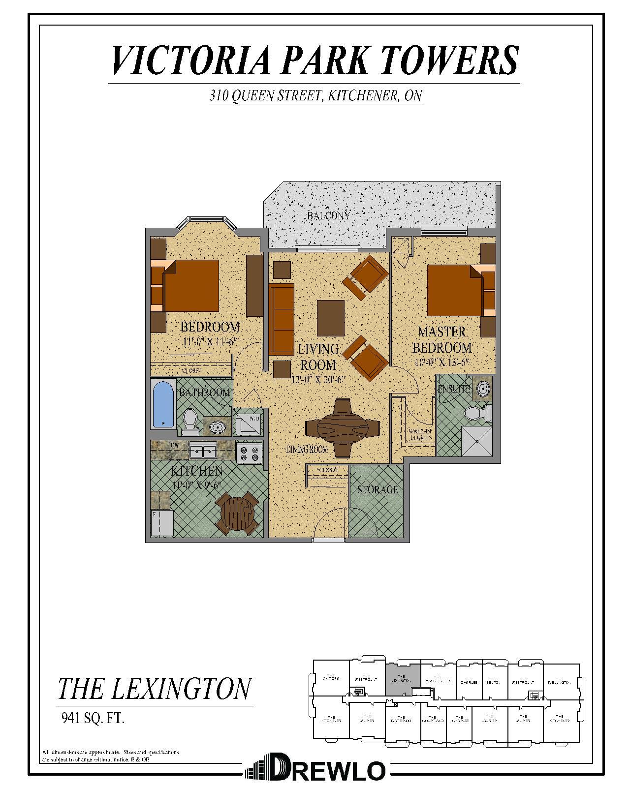 Victoria Park Apartments: 1, 2 & 3 Bedroom Apartment In