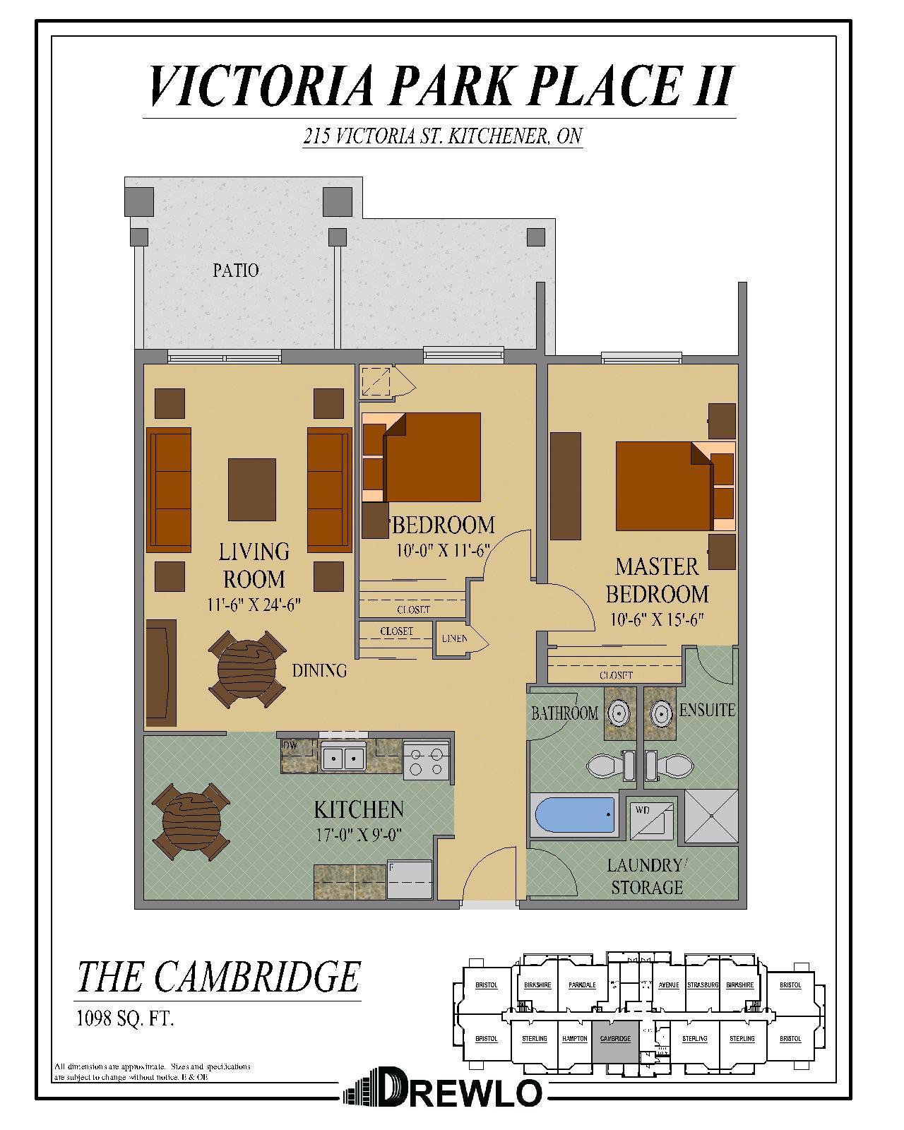 Victoria Park Apartments: Kitchener Apartments For Rent
