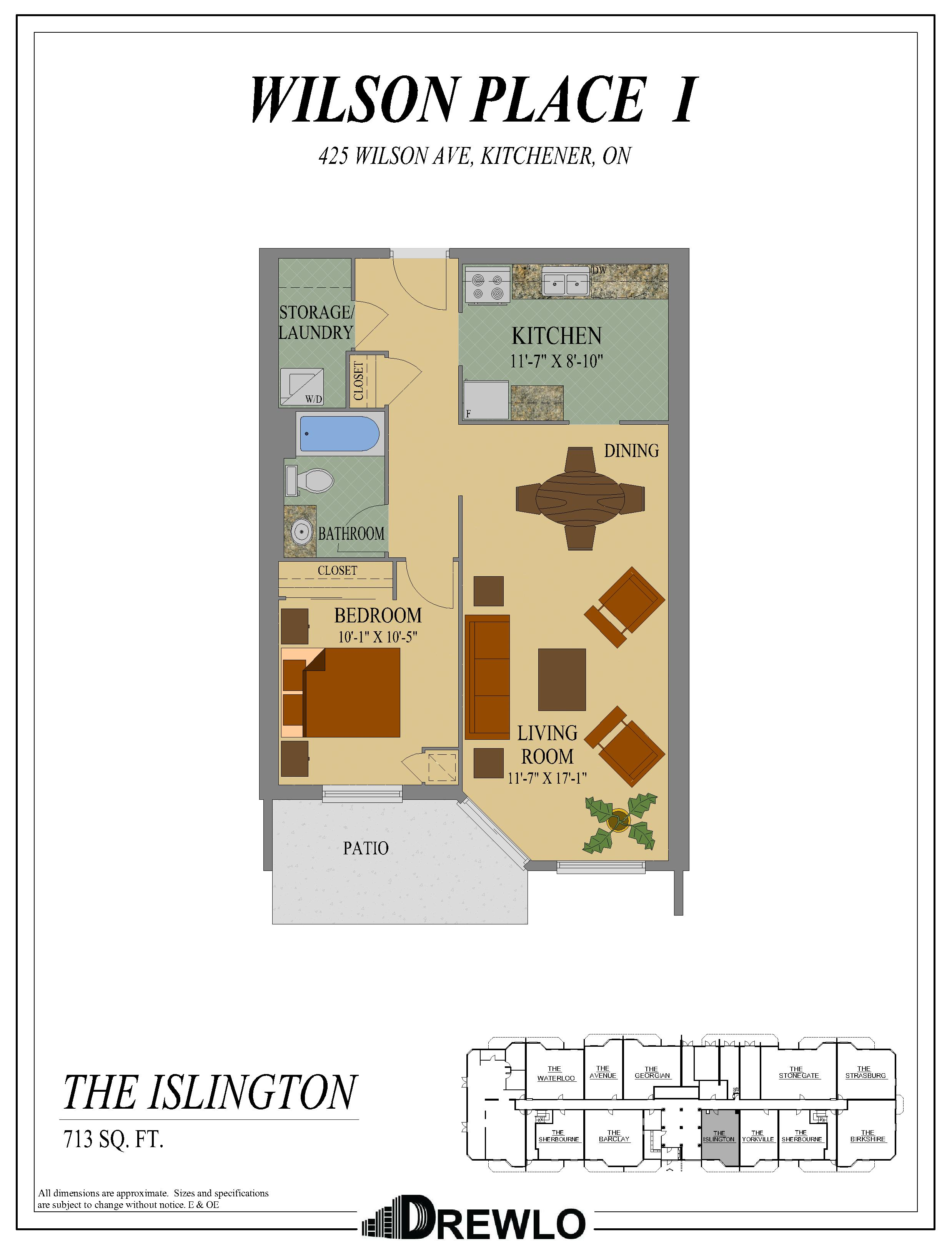 Wilson Place I | Apartment in South Kitchener | Drewlo Holdings