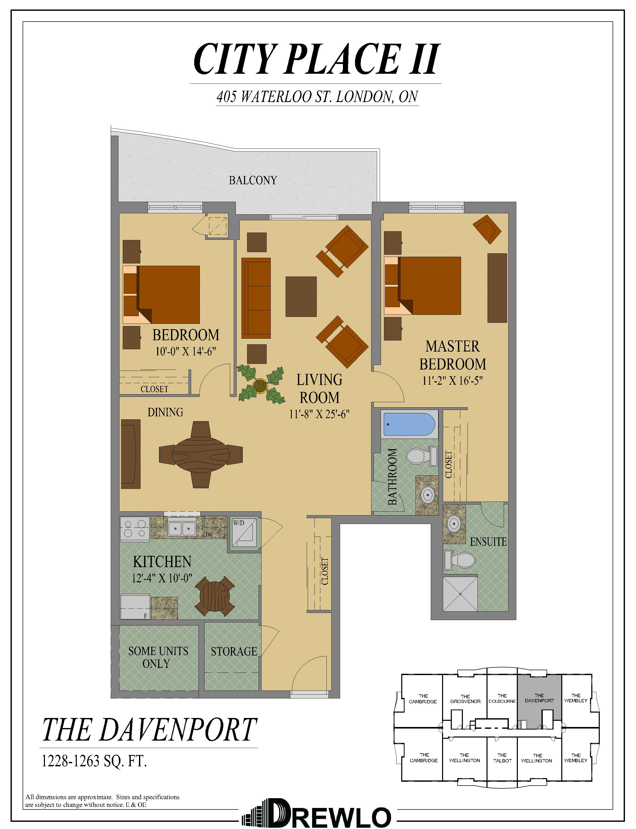 City Place II | Apartments for Rent Downtown London ...