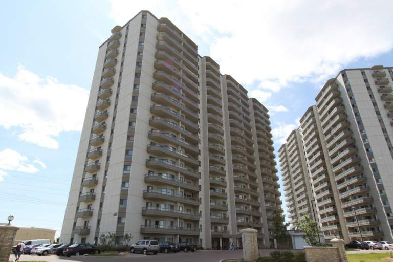 Apartment located in Kitchener