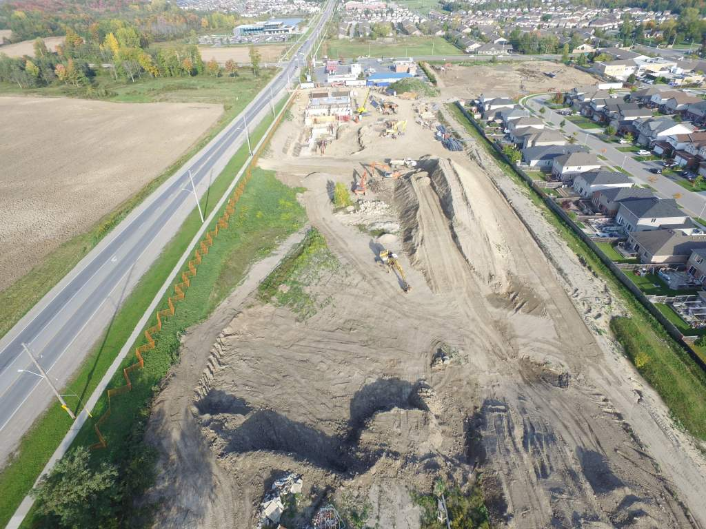 Waterdale Walk - Construction