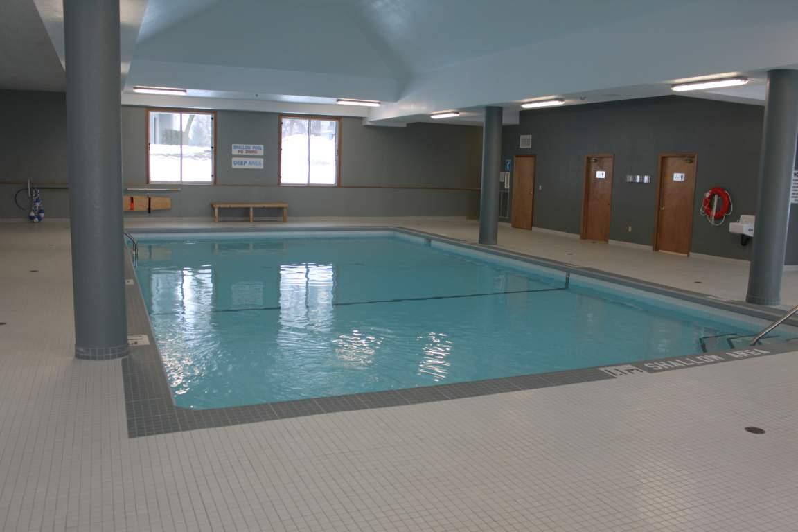 Blythwood Place - Apartment London - Future Pool House featuring saltwater pool, hot tub, sauna, and fitness room
