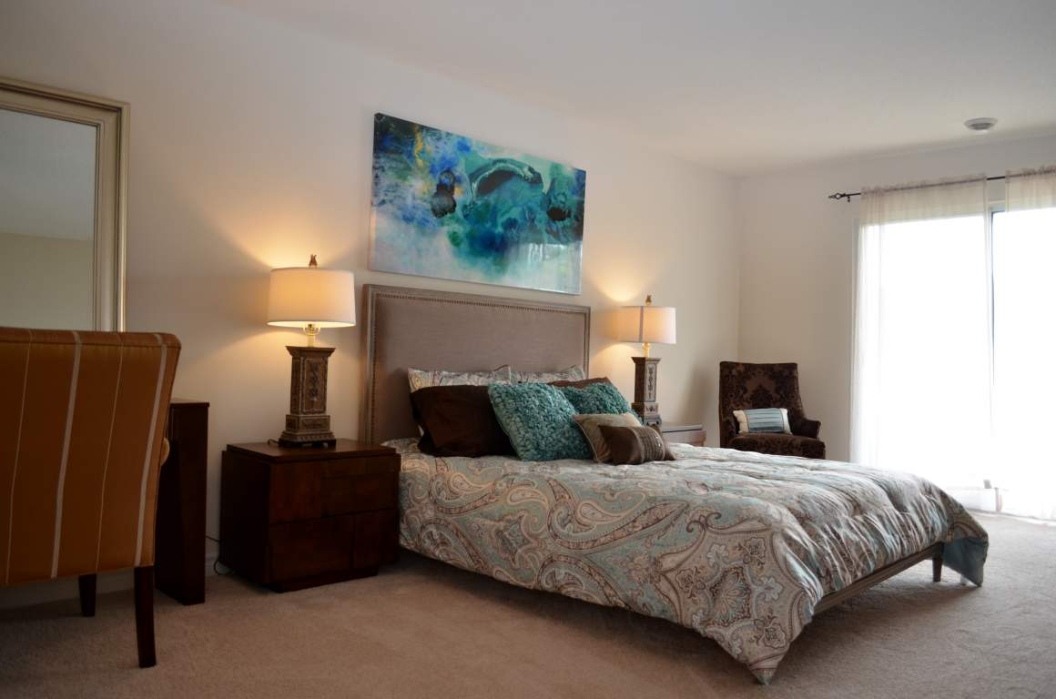 Windermere Place III - The Somerville - Master Bedroom - Apartments for Rent London - 675 Windermere Rd