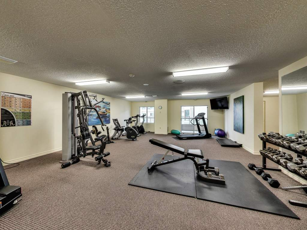 Downtown London Ontario Apartment - Fitness Room