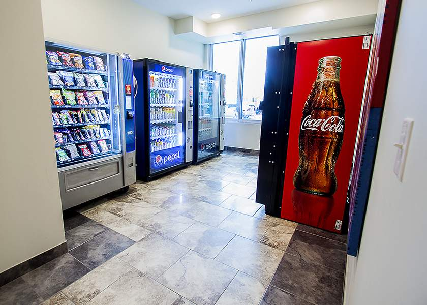 Collegeview Commons - 200 Old Carriage Drive Kitchener Ontario - Vending Machines