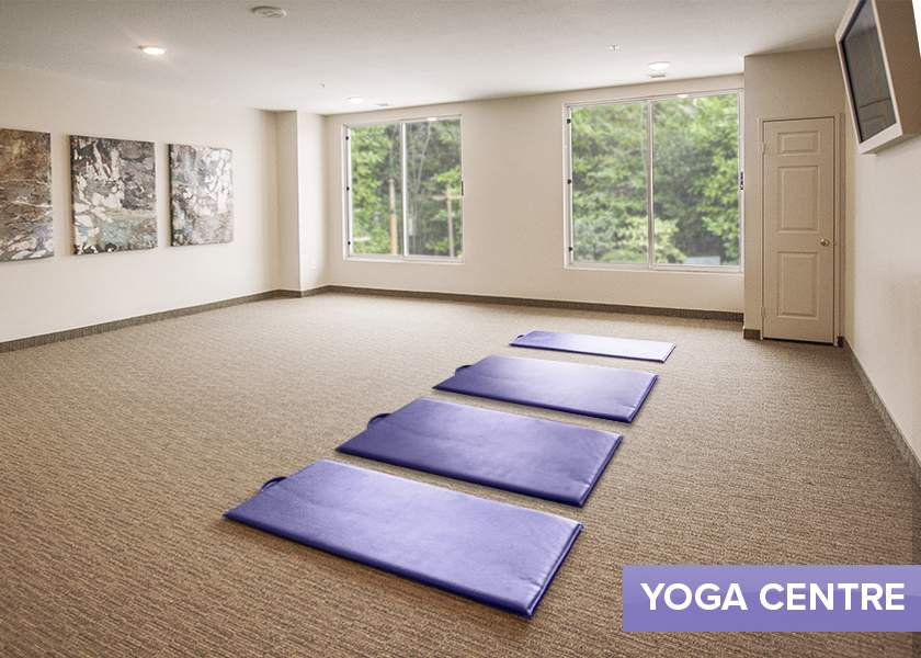 Collegeview Commons - 200 Old Carriage Drive Kitchener Ontario - Yoga Room
