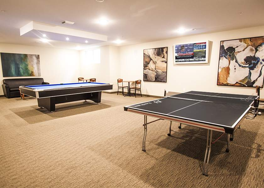 Collegeview Commons - 200 Old Carriage Drive Kitchener Ontario -Games Room