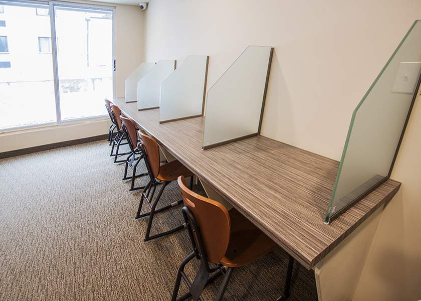 Collegeview Commons - 200 Old Carriage Drive Kitchener Ontario - Student Study Room