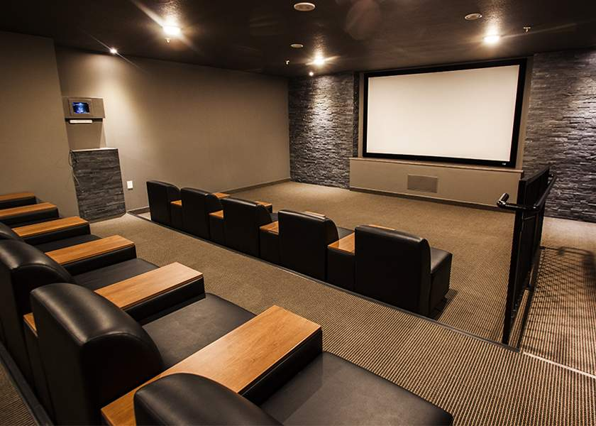 Collegeview Commons - 200 Old Carriage Drive Kitchener Ontario - Movie Theater