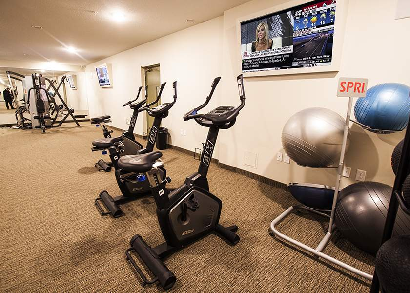 Collegeview Commons - 200 Old Carriage Drive Kitchener Ontario - Fitness Centre