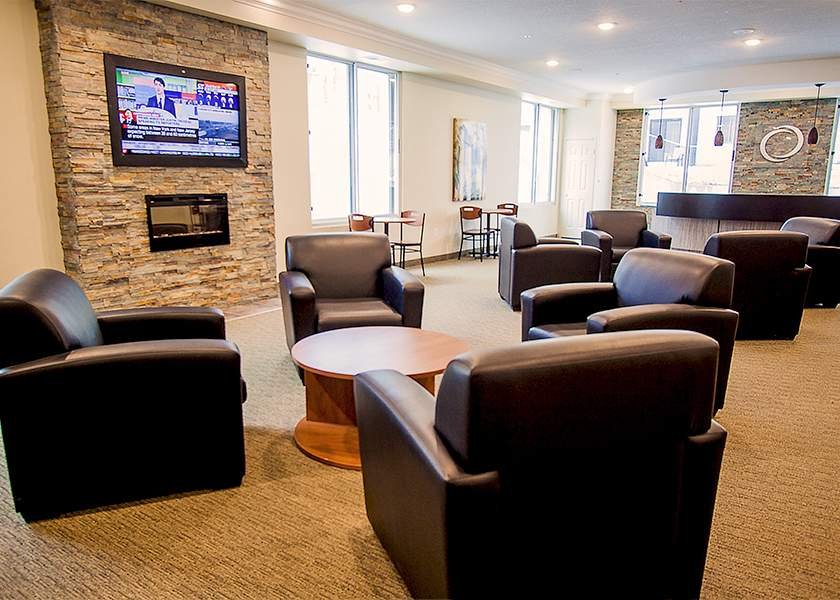 Collegeview Commons - 200 Old Carriage Drive Kitchener Ontario - Common Room
