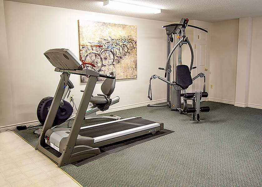Ridout Place - 536 Ridout London Ontario - Fitness Room