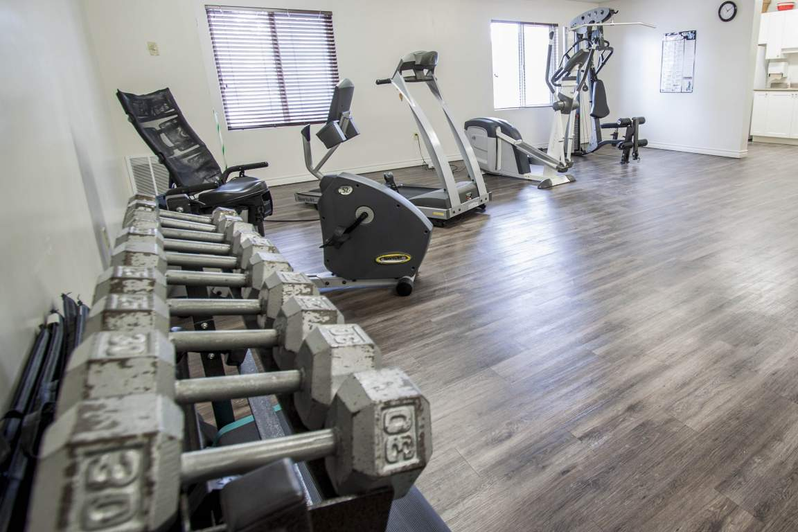 Beaverbrook Towers I - 1460 Beaverbrook Ave London Ontario - Fitness Room