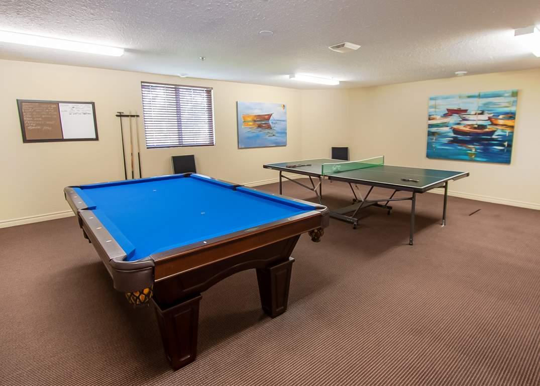 Marina Park Place III - 1295 Sandy Ln Sarnia Ontario - Games Room