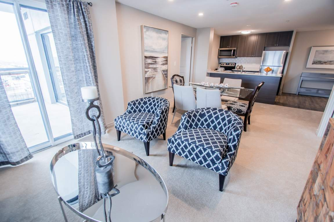 Waterdale Walk - Living Room