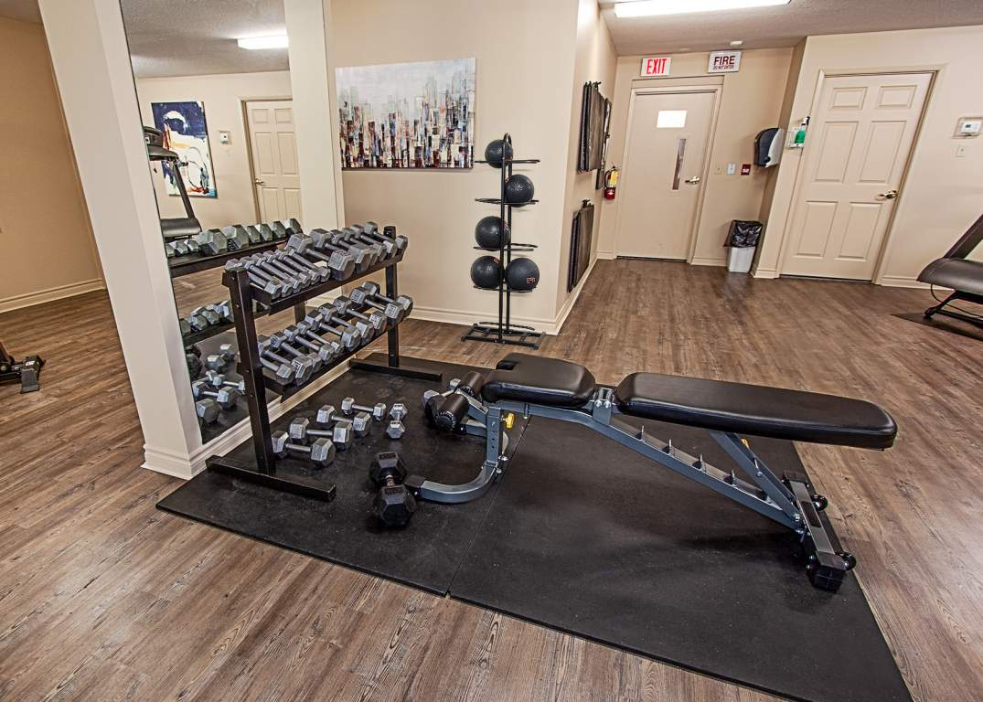 City Place II London - 405 Waterloo St - Fitness Room