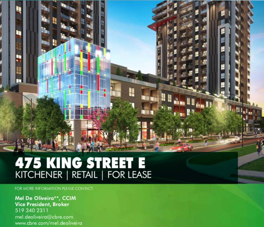 Downtown Kitchener Commercial Space