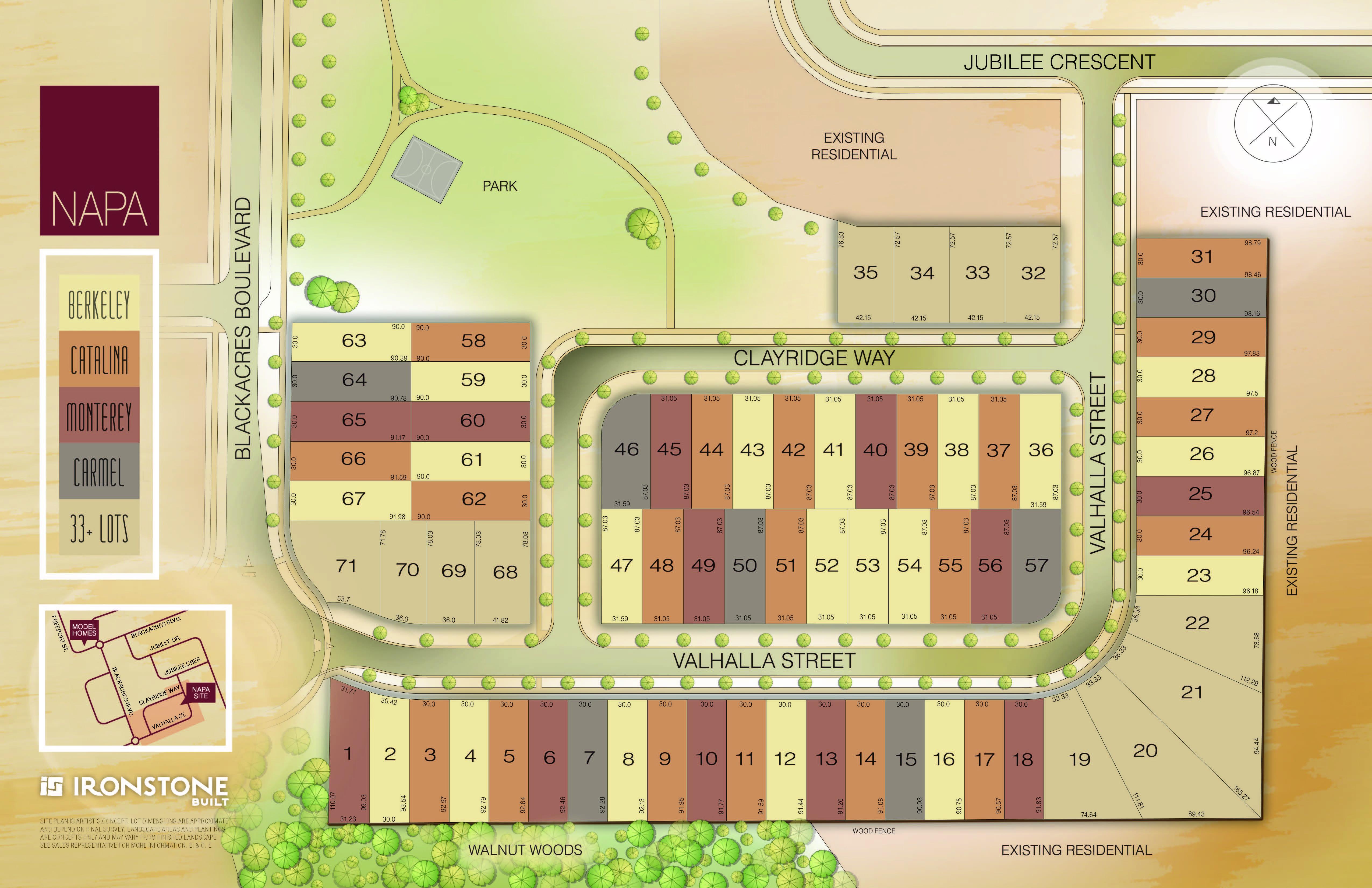 Subdivision Lot Plan