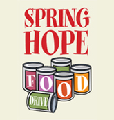 Spring of Hope Food Drive