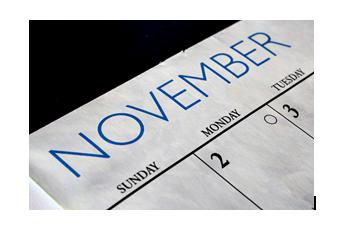 November - Interesting Facts