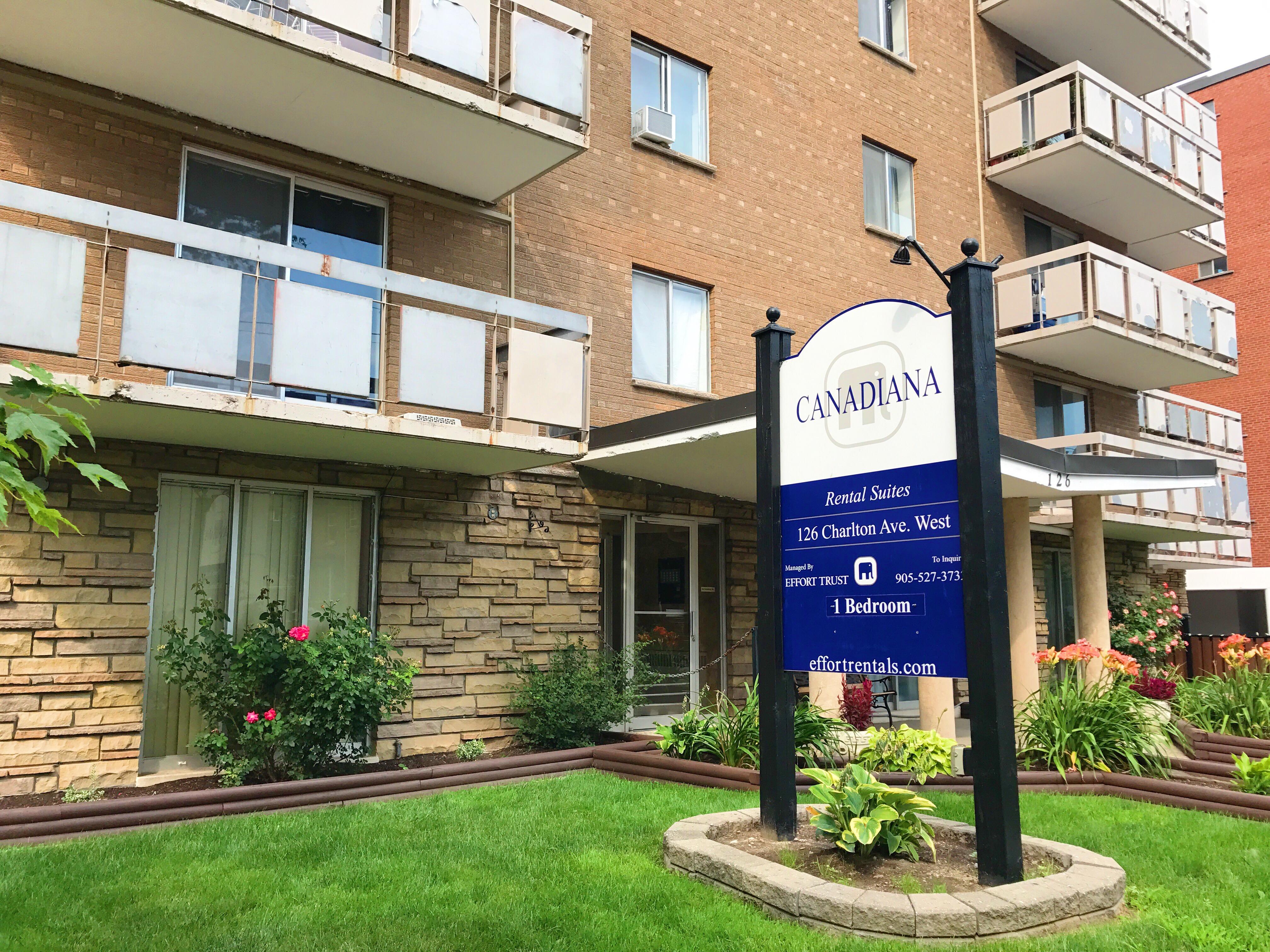 Canadiana Apartments | 126 Charlton Ave. W., Hamilton ...