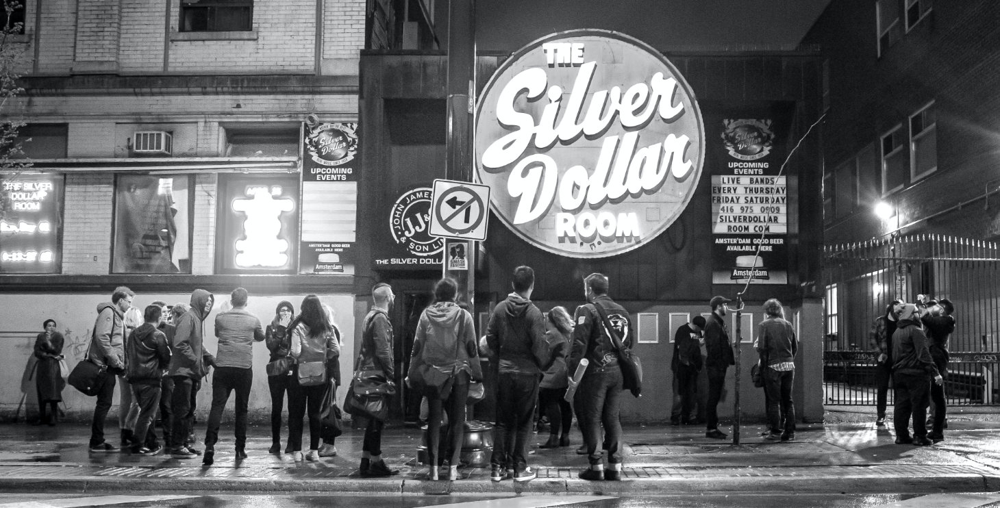 The Silver Dollar Room Exterior