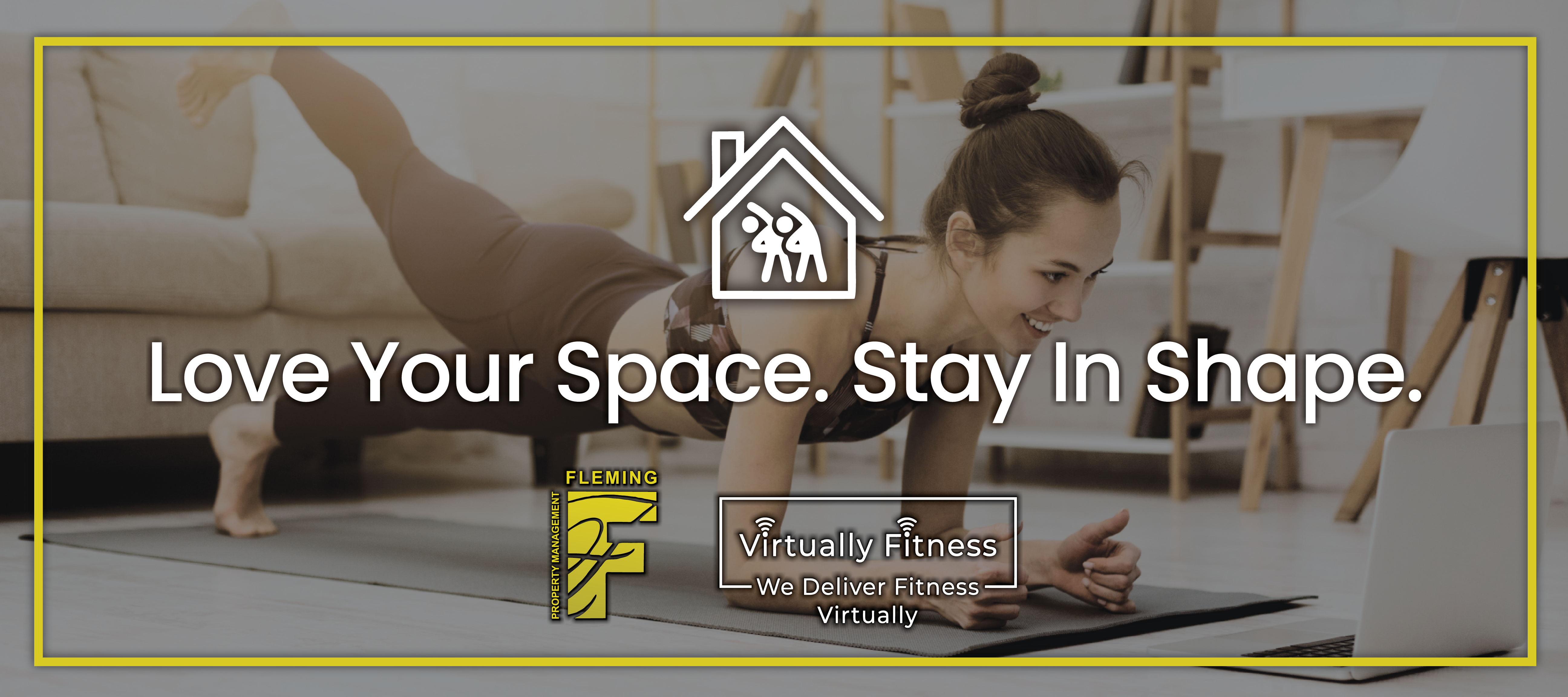 virtual Fitness page banner