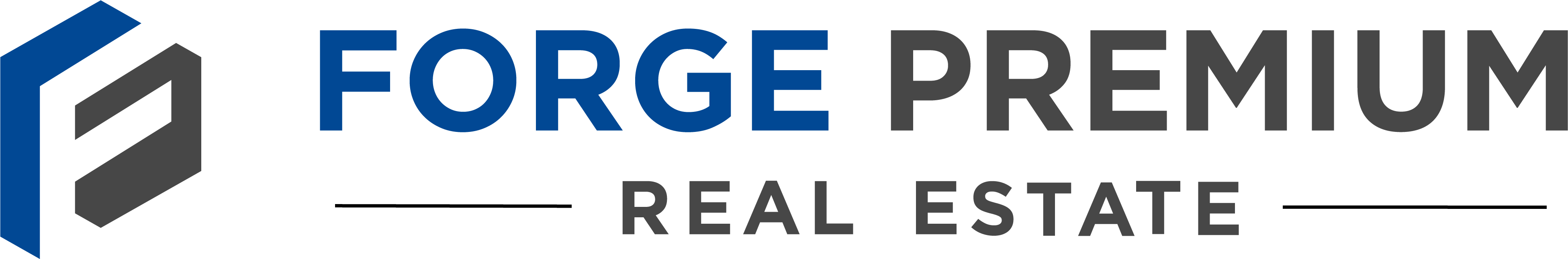 Forge Premium Real Estate Logo