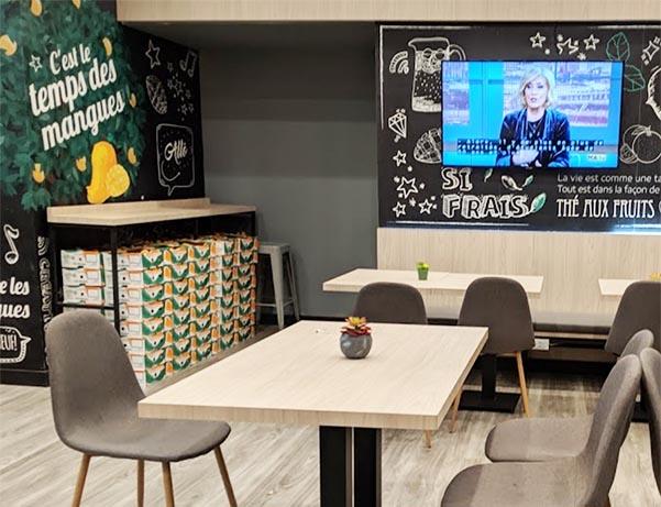 Presotea Sainte-Catherine - Table and TV
