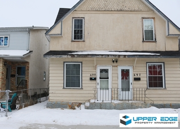 Home For Rent in  697-699 Alfred Avenue, Winnipeg, MB