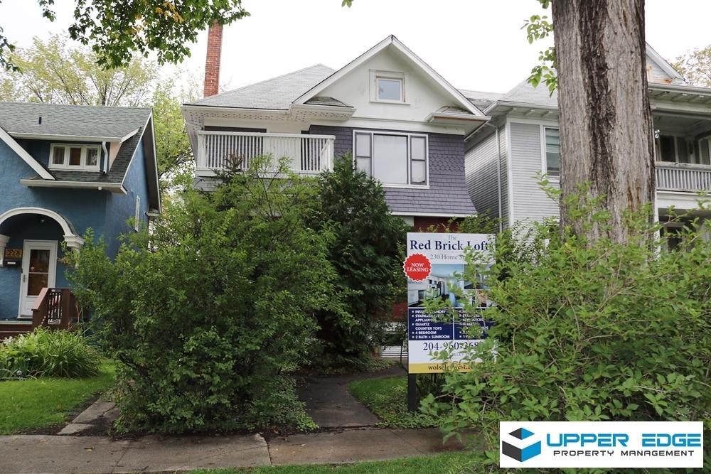 Winnipeg Manitoba Triplex For Rent