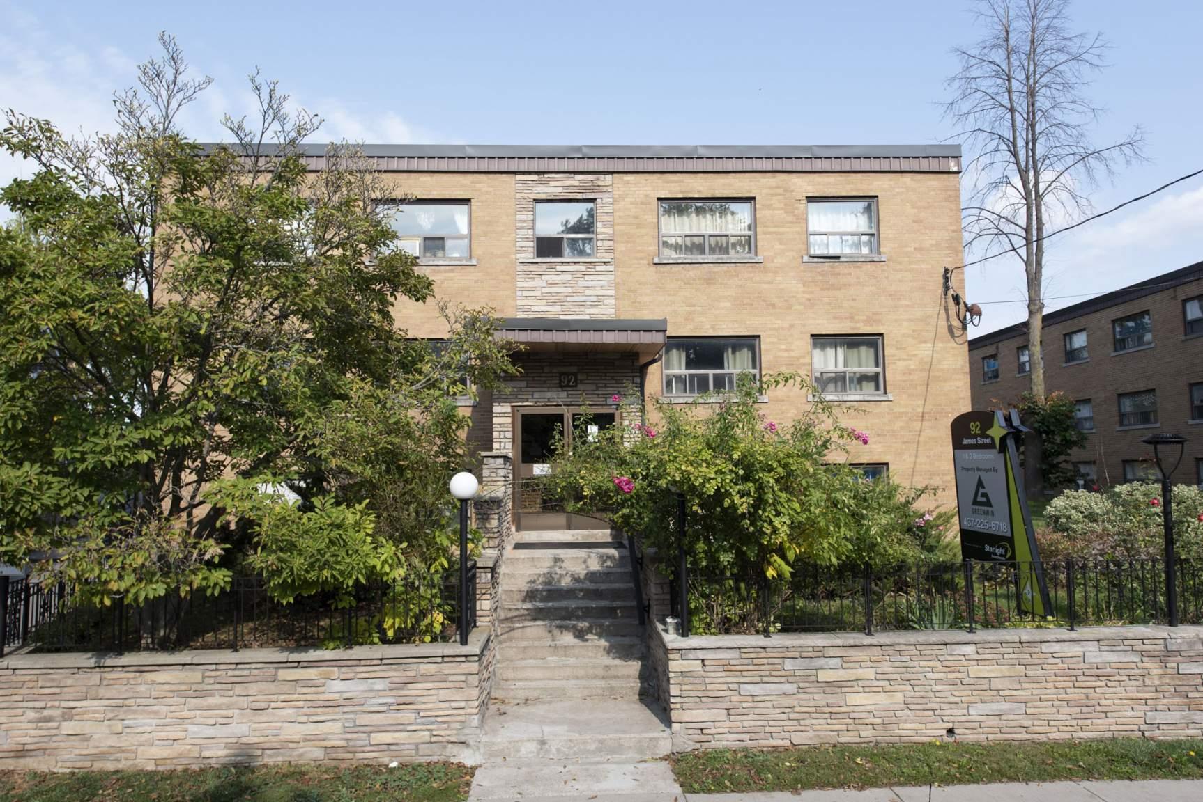 90, 92 James St. & 25 Villa Rd.