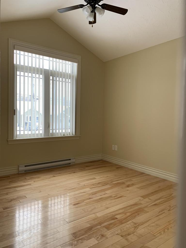 Large Bedroom #2 with Cathedral Ceiling (on main level)