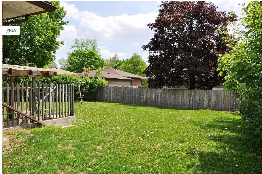 191 Cedarbrae Avenue- Backyard