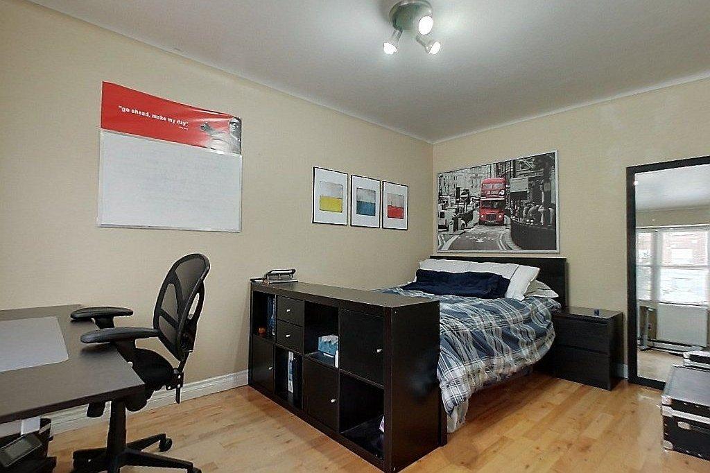 Main level (unit A) - Bedroom