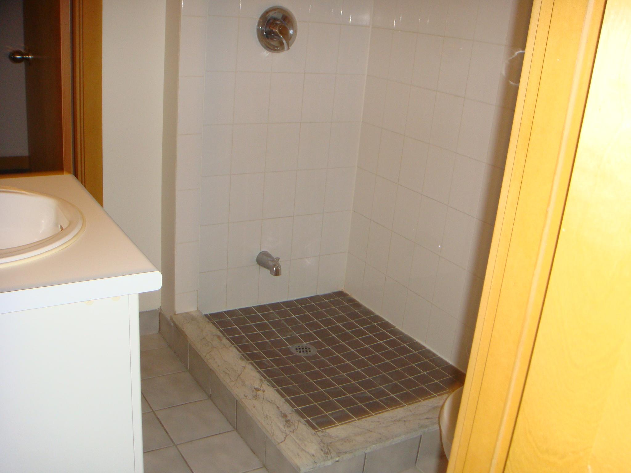 Unit 17 shower - 1 of 2