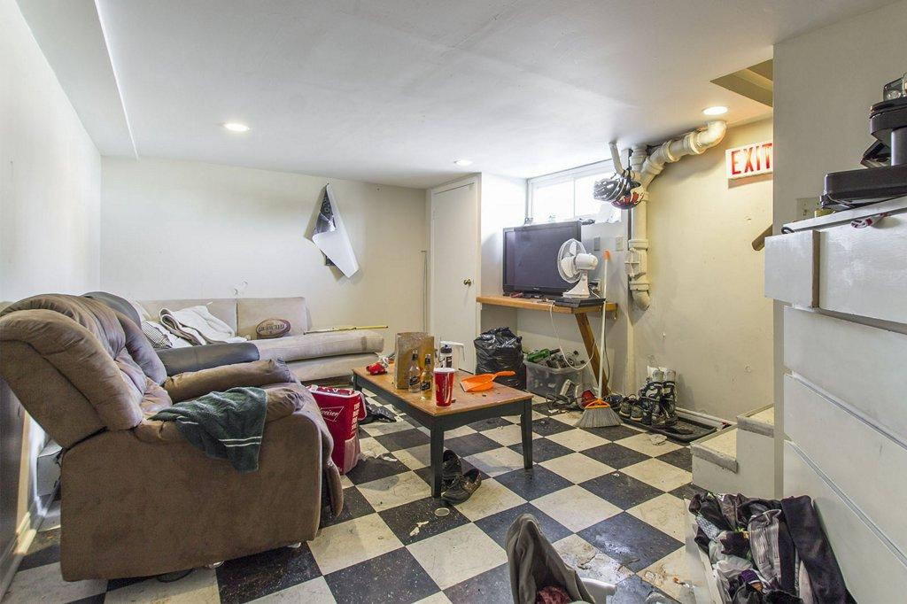 Lower living room