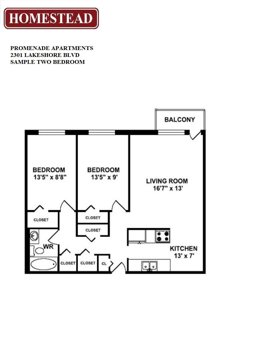 promenade apartments homestead