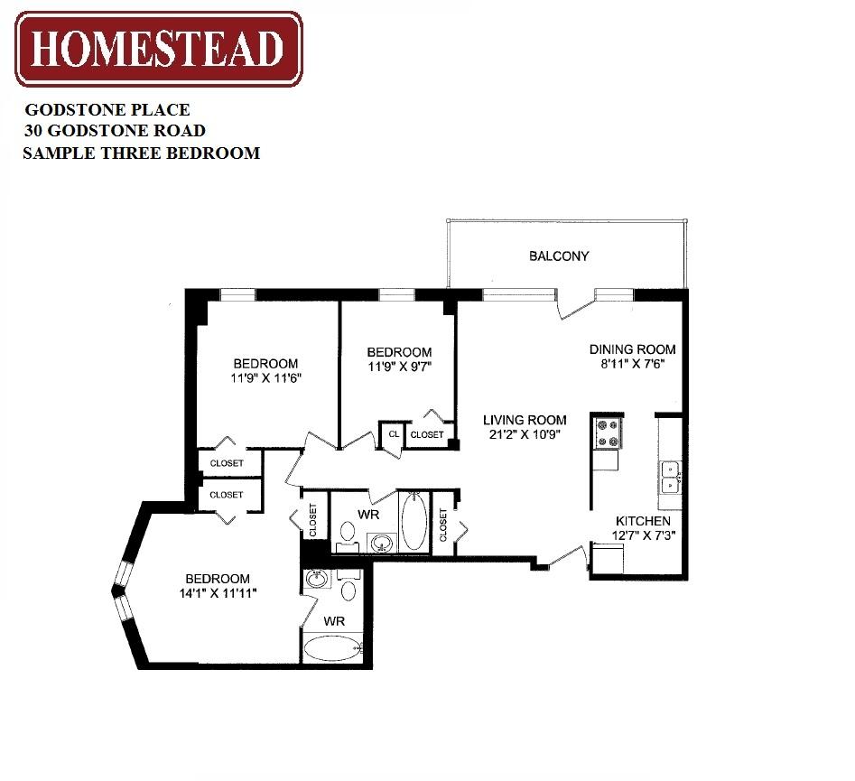 Fairview Mall Floor Plan: Godstone Place Apartments