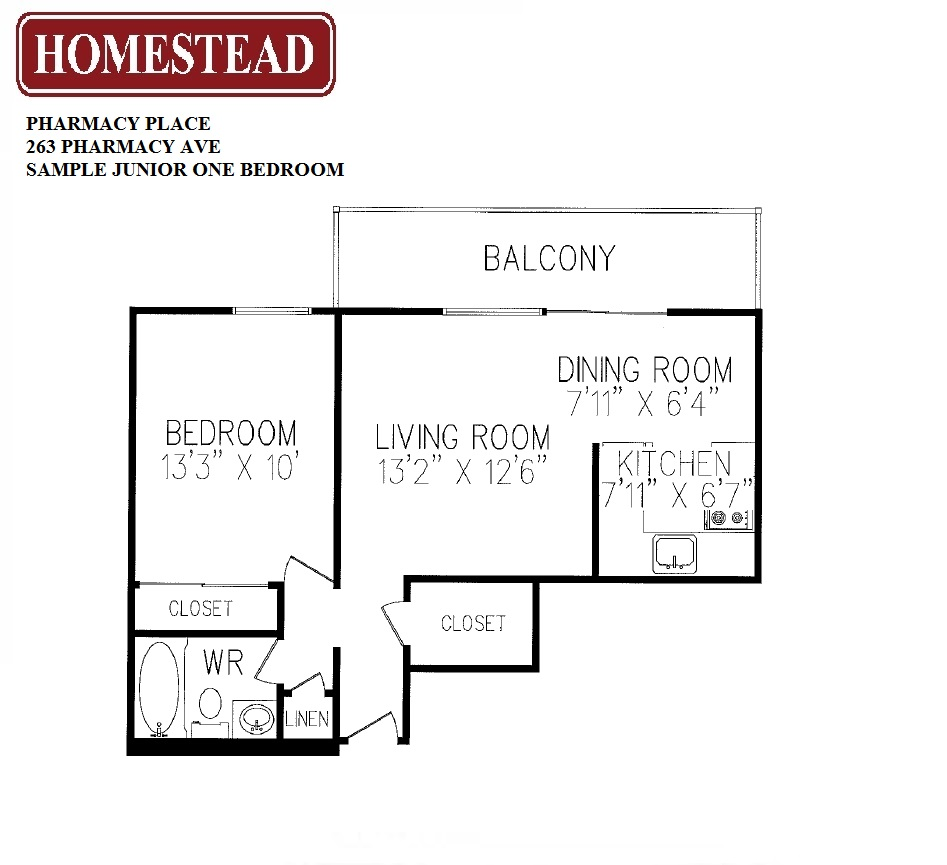Pharmacy place homestead for Pharmacy floor plan