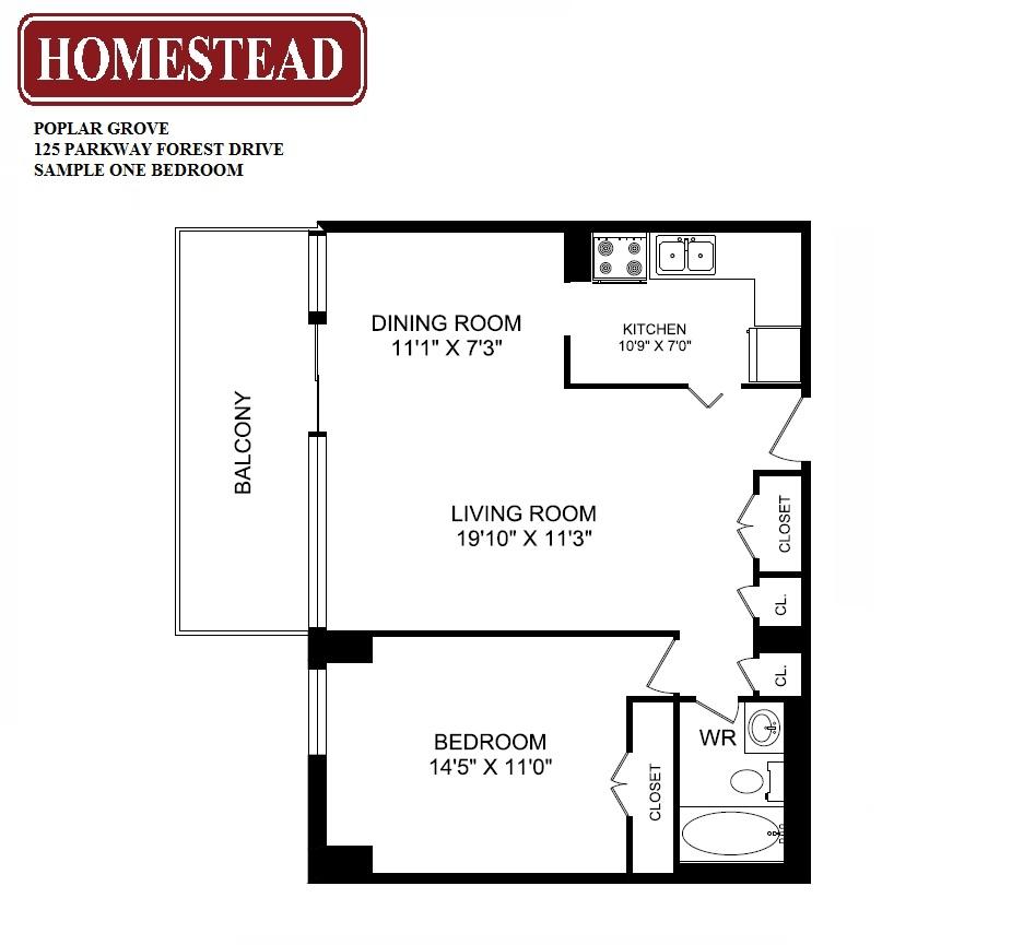 Fairview Mall Floor Plan: Poplar Grove