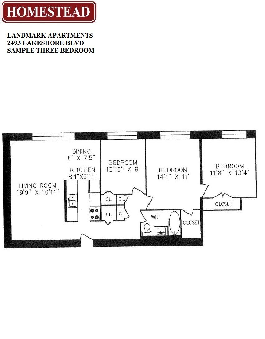 Landmark Apartments Homestead