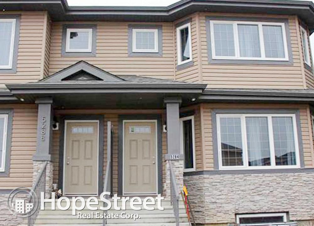 Edmonton Du Sud-est 3 chambre à coucher Duplex