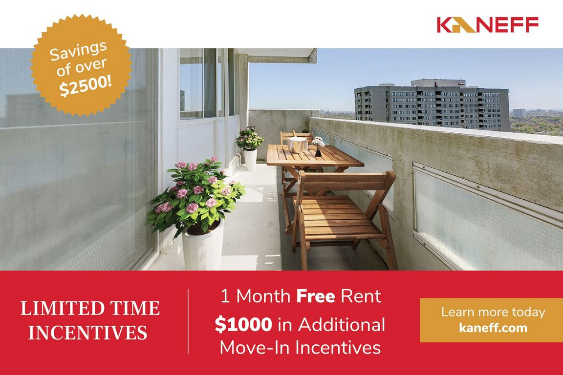 Mississauga Apartment for rent, click for more details...