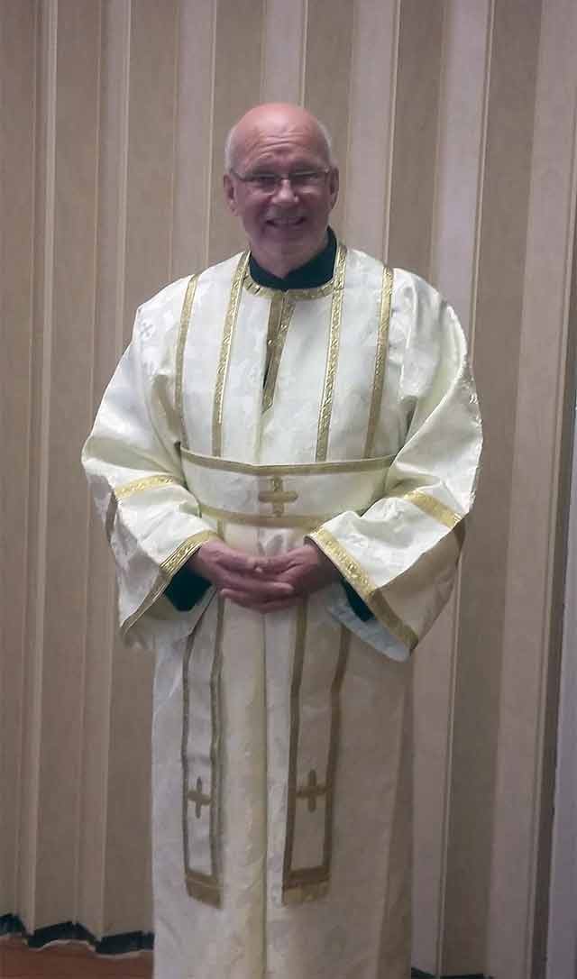 Subdeacon Carl Alliott