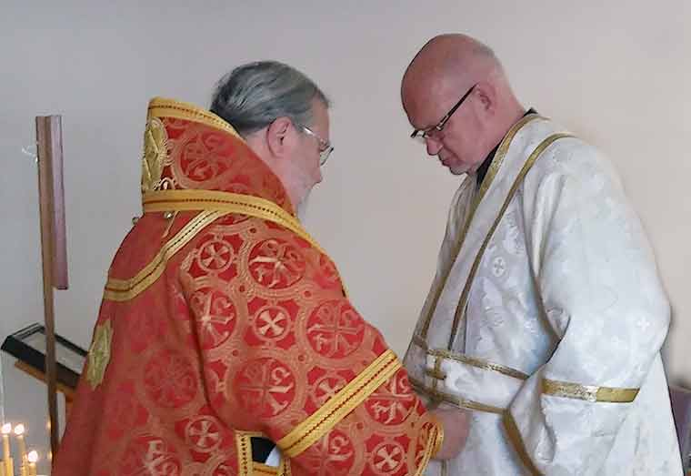 Carl Alliott Ordained to the Order of Subdeacon