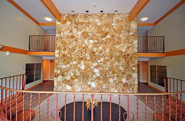 Dufferin Terrace 'before' lobby