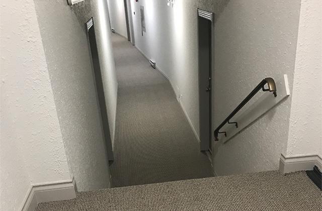 Dufferin Terrace 'after' hall