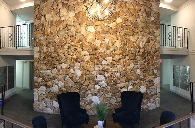 Dufferin Terrace 'after' lobby